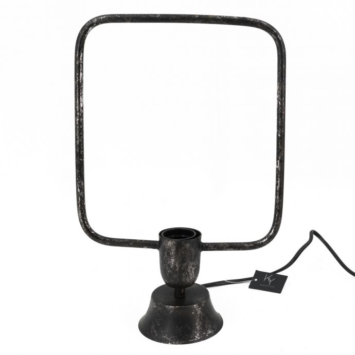 Bureaulamp staal