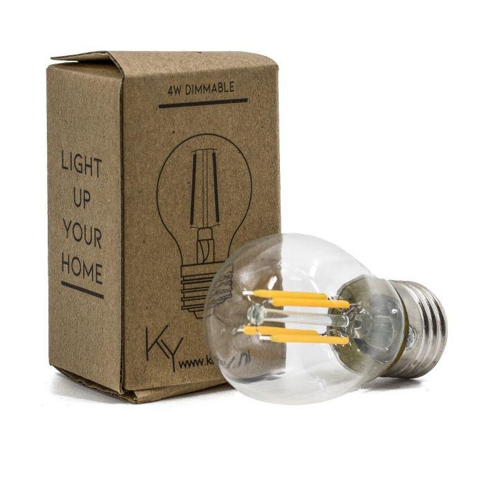 Led lamp 4 watt dimbaar