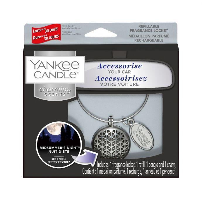 Yankee Candle Autoparfum Charming Scents Midsummer's Night Geometric