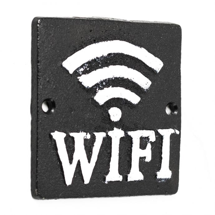 Wifi bordje