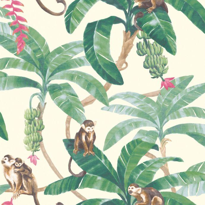 Patroon behang Myriad aap