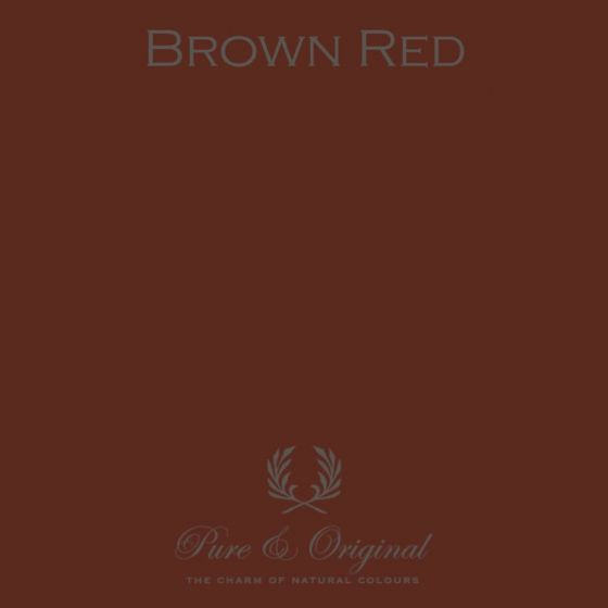 Pure & Original Fresco Brown Red