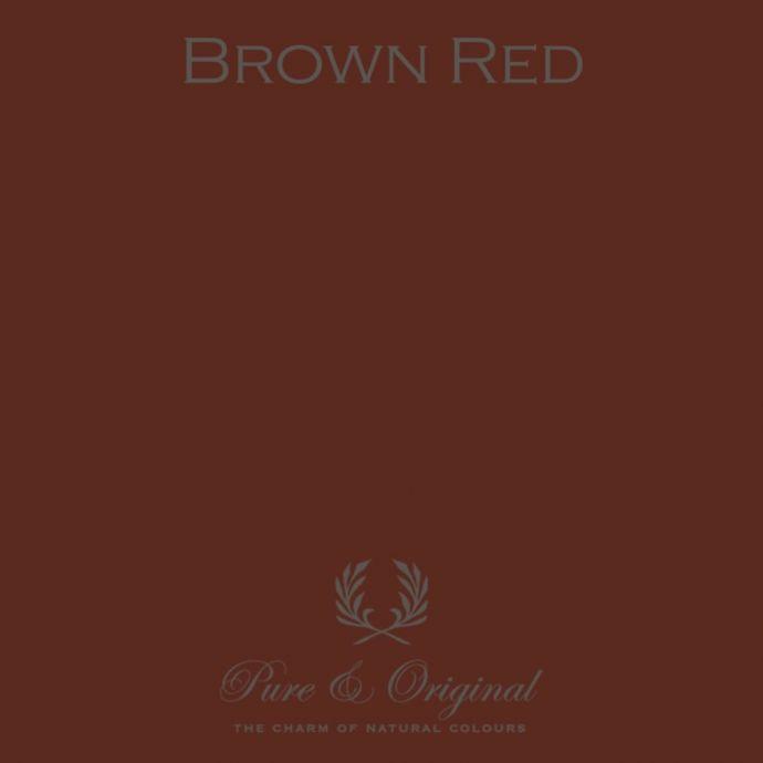 Pure & Original Wallprim Brown Red