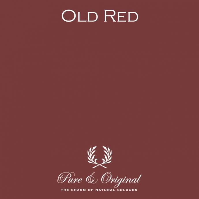 Pure & Original Fresco Old Red