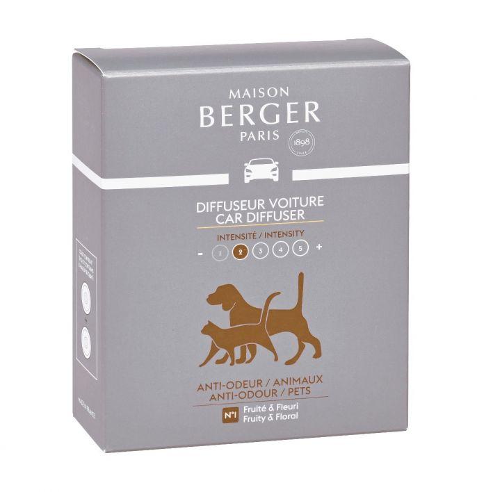 Maison Berger Autoparfum Navulling Anti-Odour Dieren