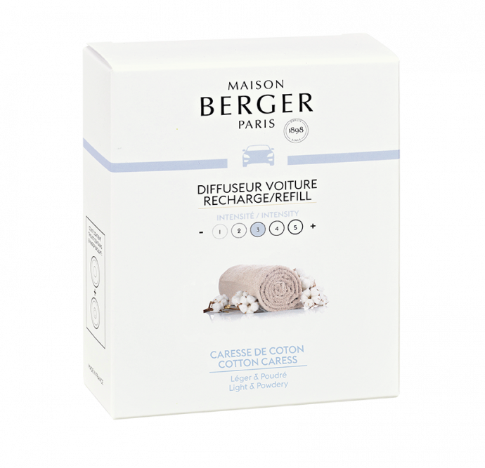 Maison Berger Autoparfum Navulling Cotton Caress