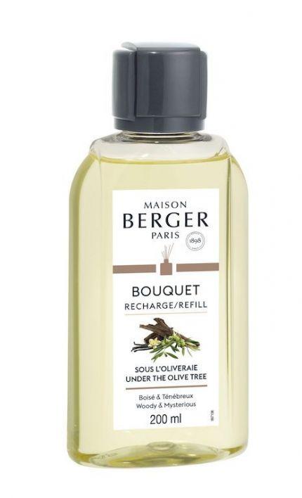 Haal het najaar in huis met de nieuwste Maison Berger geur; Sous L'Oliveraie. Met de Lampe Berger navulling Under the Olive Tree haal je aangename, houtachtige geur in huis. De subtiele, leerachtige geur is gebaseerd op noten van hout, vanille en pachouli