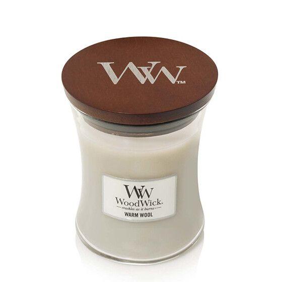 Geur van de maand oktober: WoodWick Candle Warm Wool