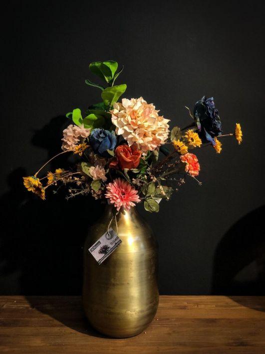 Bos kunstbloemen compleet - large