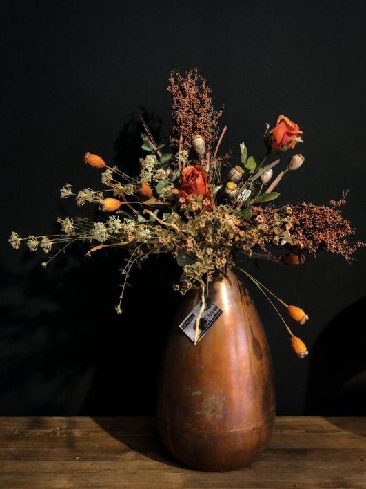 Bos kunstbloemen compleet - verschillende formaten