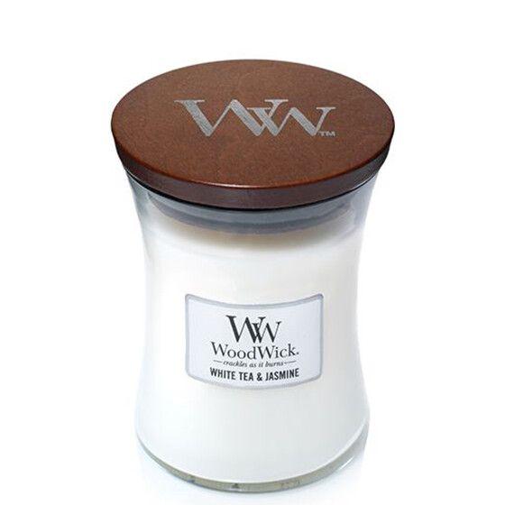 WoodWick Candle White Tea & Jasmine