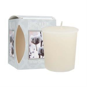 Bridgewater Geurkaars White Cotton