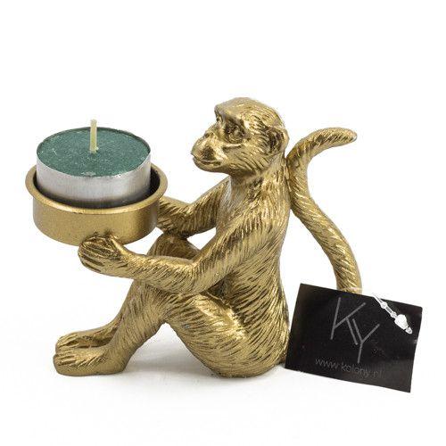 Waxinehouder aap