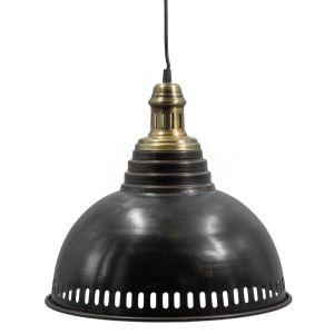 Hanglamp metaal zwart/goud