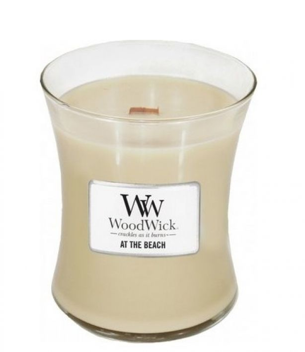 WoodWick Candle At the Beach