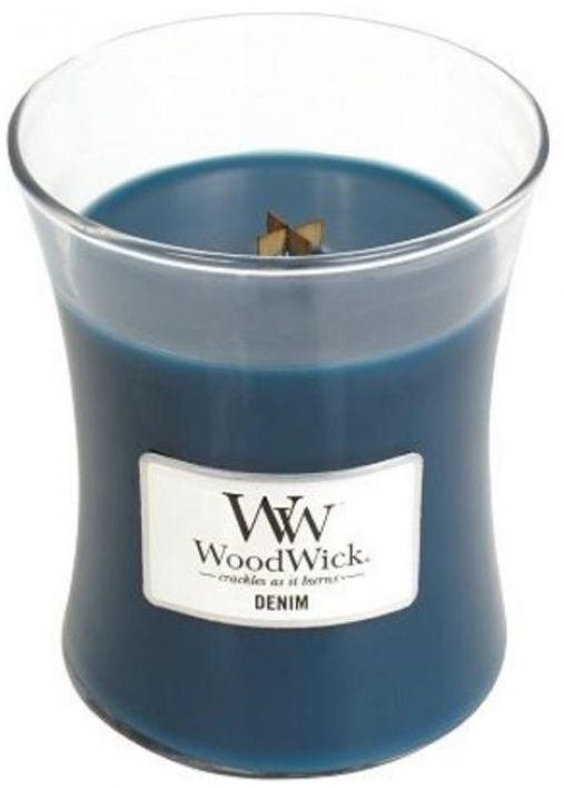 WoodWick Candle Denim