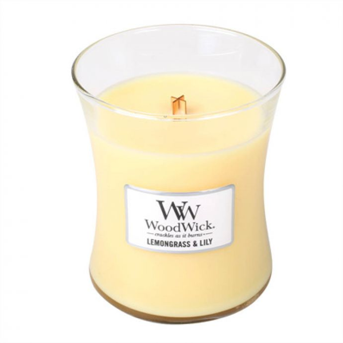 WoodWick Candle Lemongrass & Lily
