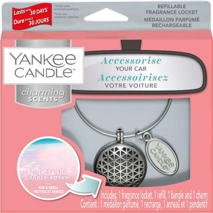 Yankee Candle Autoparfum Charming Scents Pink Sands