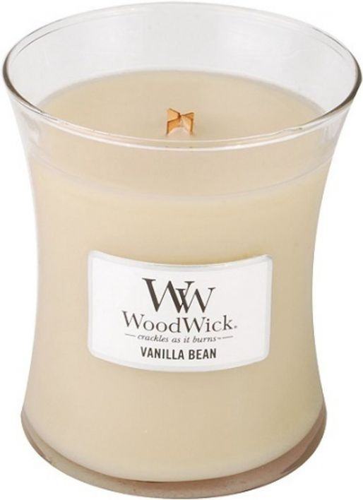 WoodWick Candle Vanilla Bean