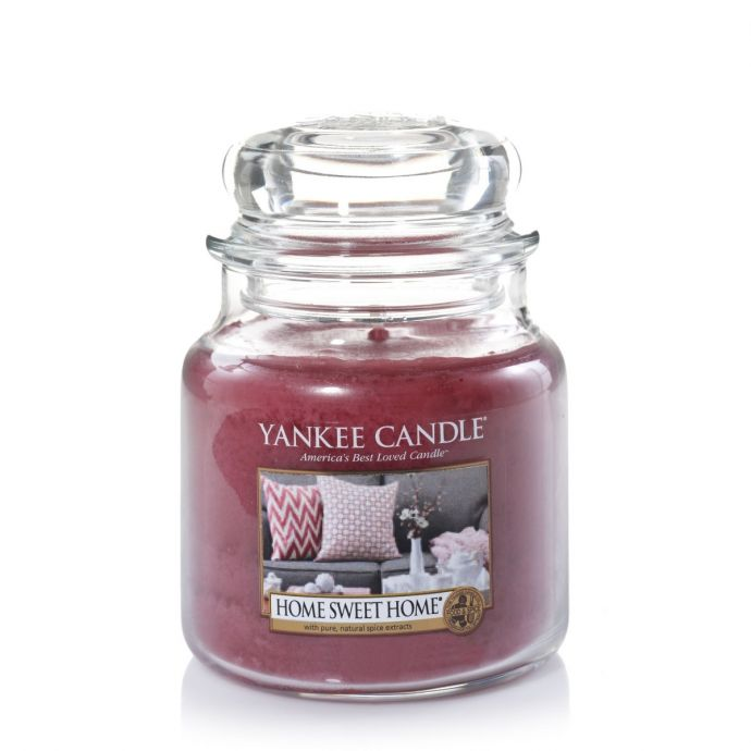 Yankee Candle home sweet home medium jar