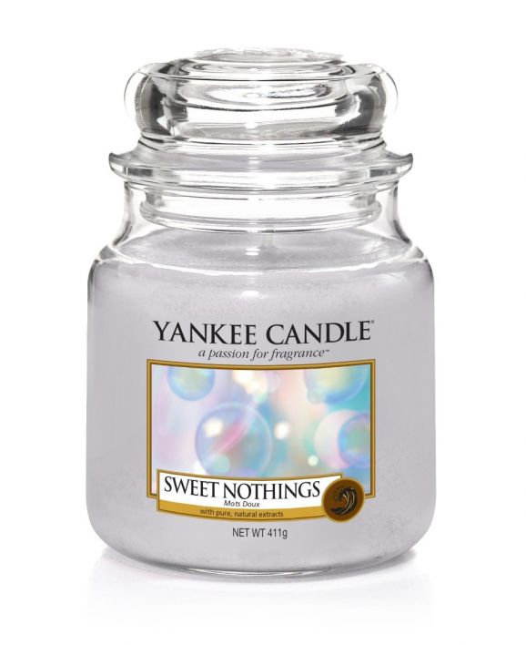Yankee Candle sweet nothings medium jar