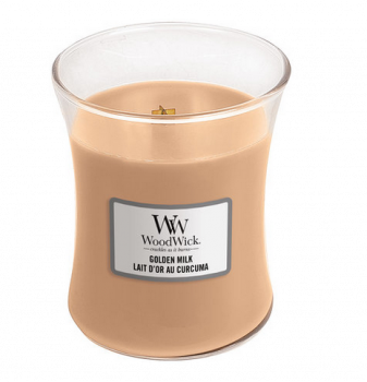 WoodWick Candle Golden Milk