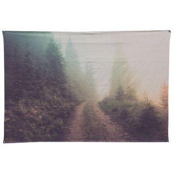 Wanddoek natuur