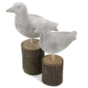 Betonnen vogel