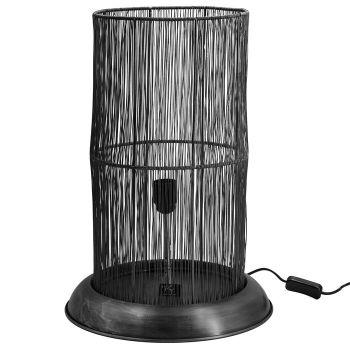 Bureaulamp metaal zwart