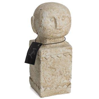 Stenen beeldje moai