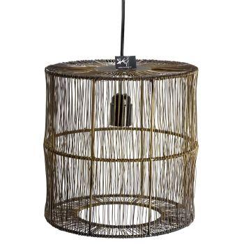 Hanglamp metaal goud