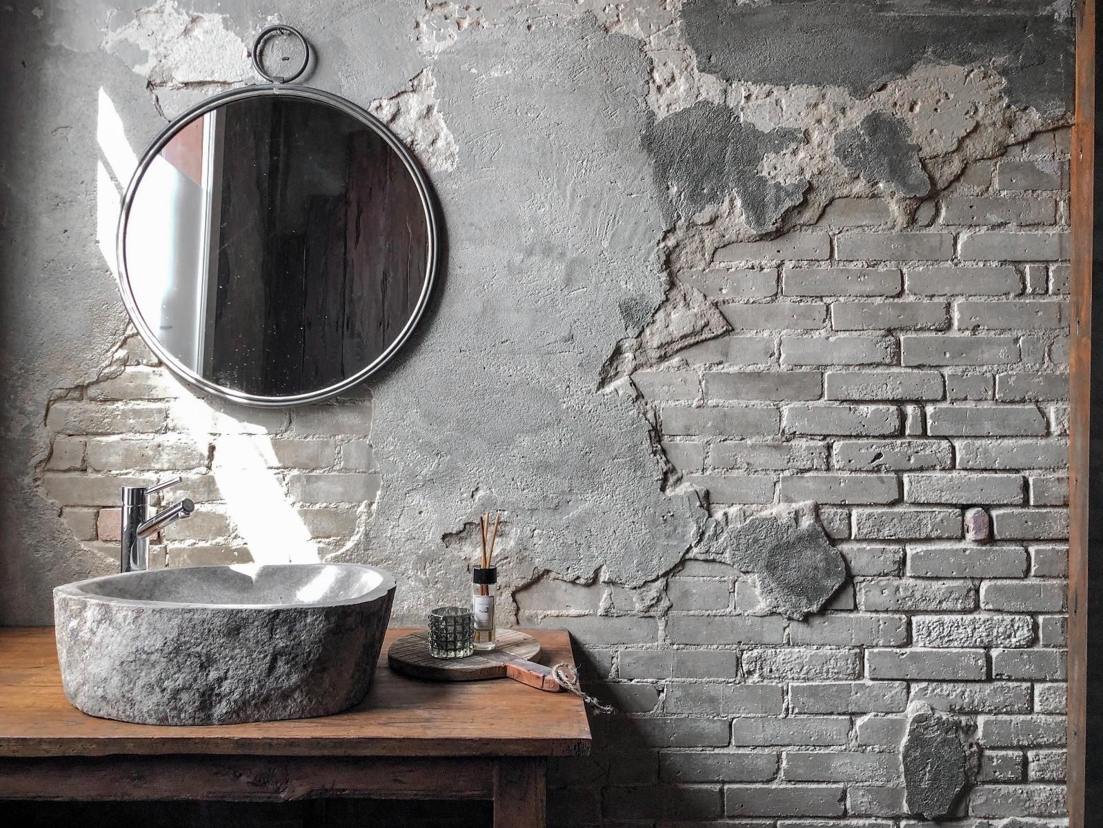 spiegel badkamer